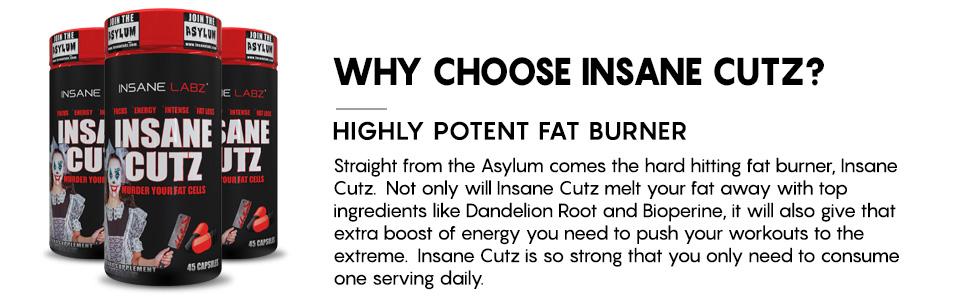 Insane Cutz Fat Burner Arvustused Rasva poletamine geen