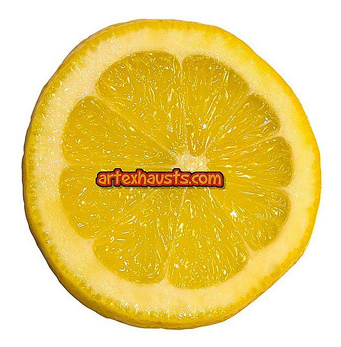 Kulma sidruni vee kaalulanguse eelised