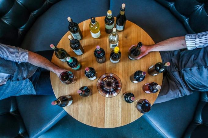 Kaalulangus veini peatamine