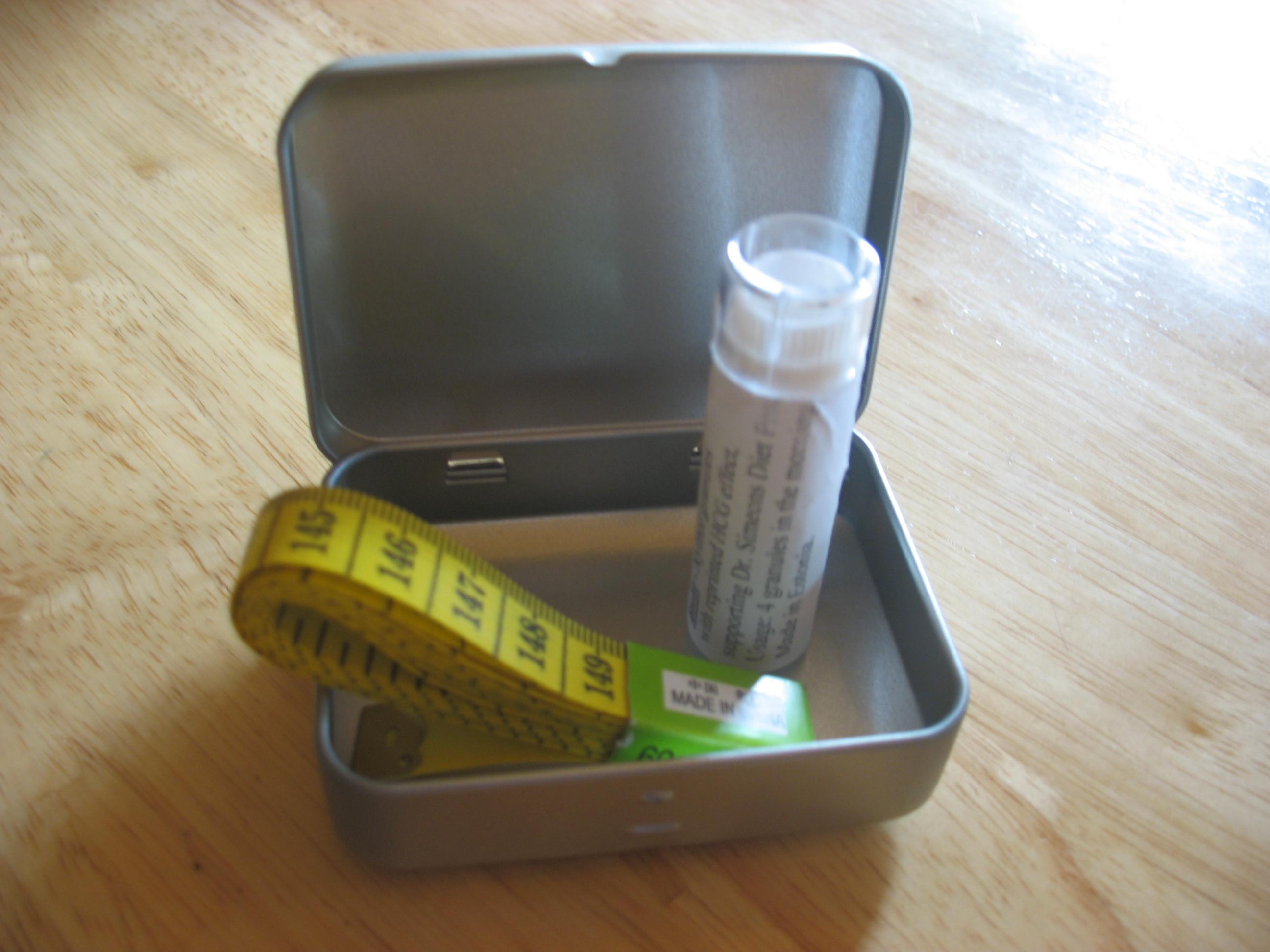 HCG kaalulanguse jalgimisleht Mini V rasva poletite ulevaade