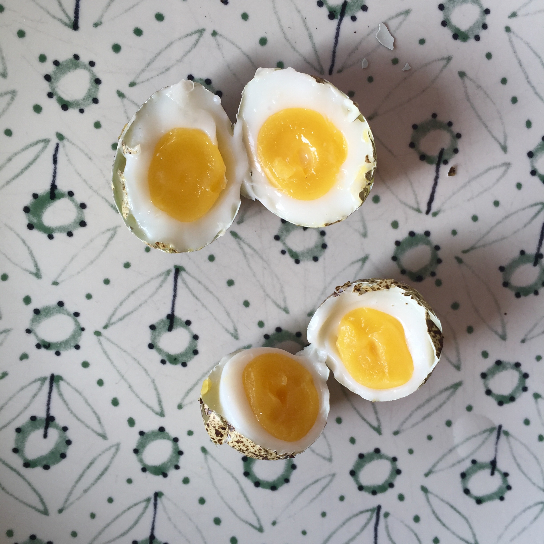 Kaalulangus kova keedetud munad