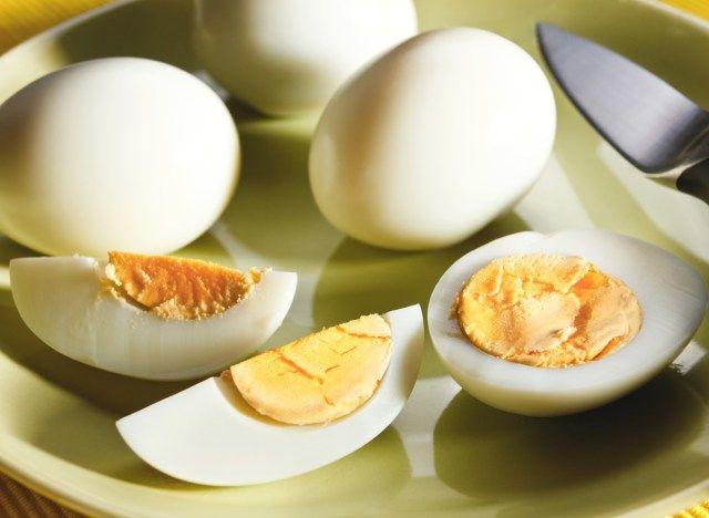 Kas munade poletasid rasva TTC parast kaalulangust