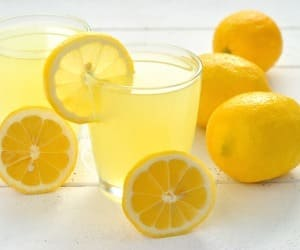 Vesi sidruni kaalulangusega Parim herb rasva kadu
