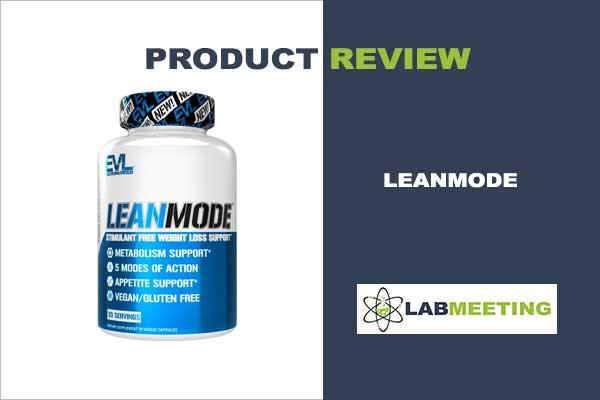 EVL Lean Mode Fat Burner Arvustused kuidas kohurasva poletada
