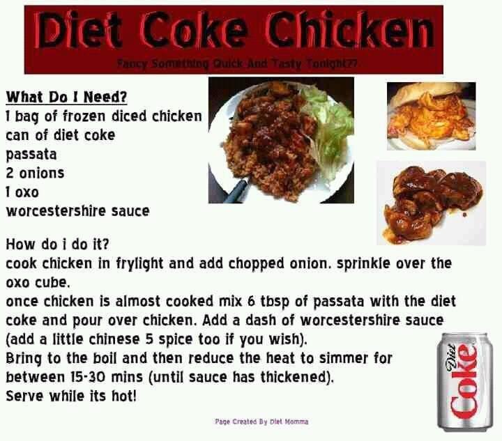 Slimming Coke Chicken Circuit koolitus kaalulangus rutiin